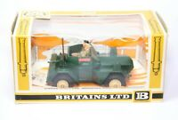 Britains Military 9784 British Scout Car In Its Original Box - Near Mint Vintage