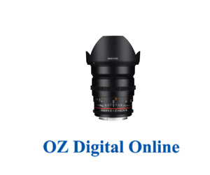 New Samyang 24mm T1.5 ED AS UMC VDSLR (Pentax) Lens 1 Year Au Warranty