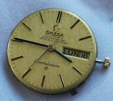 Watch Movement OMEGA Constellation cal 751  With 18k Solid Gold Dial Working