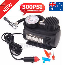 Portable 12v Car Bike Tyre Inflator Electric Pressure Air Compressor Pump