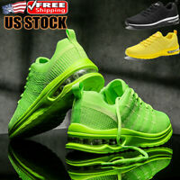 Men's Fashion Sports Air Cushion Running Shoes Casual Athletic Sneakers Tennis