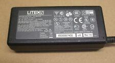 Original Liteon AC adaptador cargador PA-1650-01 20 V - 3.25 A 65 W Libre Reino Unido Entrega