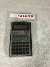 Sharp El-738 Business Financial Calculator New In Packaging With Case & Manuals