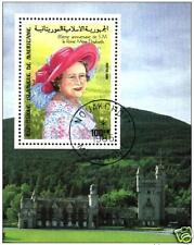 Mauritania (Mauritanie) Queen´s Mother Royal Family Madre Elisabeth Block M/S