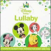 DISNEY BABY LULLABY CD ~ FAVOURITE SLEEPY TIME SONGS FOR BABY & YOU ~ WALT *NEW*