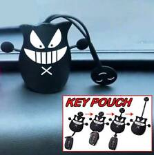 Universal Silicone Key Holder Car SUV Pouch Remote Fob Cover Case Remote Bag BLK