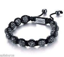 Shimla Black Crystal Bead Bracelet in black - rrp £75.00