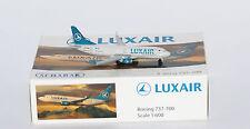Schabak 3551534 Boeing 737-7C9WL Luxair LX-LGR en 1:600 echelle
