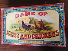 Mcloughlin Bros. Game Of Hens And Chickens Circa 1875