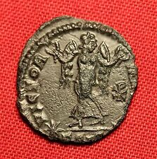 Ancient Roman Bronze Constans AE4 coin, Christogram!