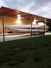2002 Spectre 36' Hull and trailer
