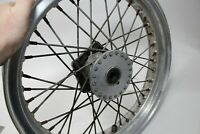 Jante en aluminium type Borrani record Wheel Rim WM3/2,15/x 19/40/trous