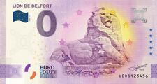 Billet 0 Euro - 90 Lion de Belfort - 2020-2  - Anniversary