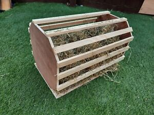 Rabbit hay barrel/hayrack (fully assembled just take out of box)