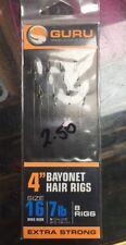 GURU MWG BAYONET METHOD HAIR RIGS FEEDER HAIR RIGS Size 14