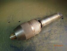 "Horton 3H Precision Keyless Drill Chuck 0-1/2"" Capacity Morse Taper #4 Shank MT4"