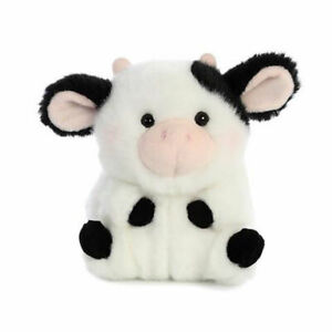 "5"" Aurora World Rolly Pet Plush - Daisy Cow"
