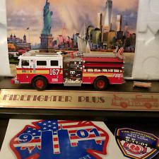 FDNY Code 3  KITBASH ENGINE 167, Borough STATEN  ISLAND, N.Y w/ .BONUS GIFTS ,