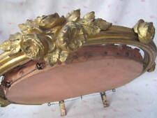 Ancien CIEL DE LIT CANOPY BETTHIMMEL Bronze 19e s. ROSES Shabby Chic Romantique