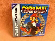 Mario Kart Super Circuit Nintendo Game Boy Advance Complete SEALED NIB *H-Seam*!
