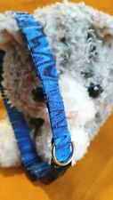 Kitty Cat Blues Cat Collar, Handmade - Wild Blues Vibes Bands Of Color