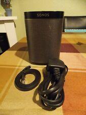 Sonos Play:1 Wireless Smart Speaker, Black.