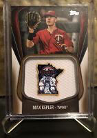 2020 Topps Series 1 MAX KEPLER Jumbo Jersey Sleeve Relic /50 Minnesota Twins