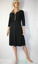 Wearhouse Essential  Kleid Gr M Schwarz Elegant Pailletten Neu