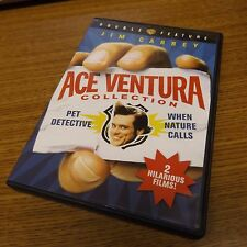 Ace Ventura Deluxe Double Feature (DVD, 2009) Rare OOP NICE!