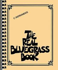 THE REAL BLUEGRASS BOOK C INSTRUMENTS - FAKE BOOK 310910