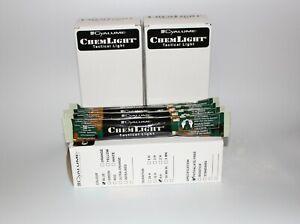Blue British Army Box Of 10 Cyalume Glow Sticks Snap Light Camping EXP 09/23