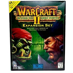 WARCRAFT 2 Beyond the Dark Portal Big Box Expansion Set for Windows PC