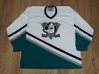 Anaheim Mighty Ducks rare vintage CCM NHL Hockey jersey size XXL