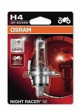H4 +50% Single Blister Night Racer 50 OSRAM