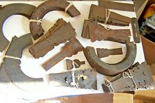 ANTIQUE LOT OF ADORNMENT DECORATIVE METAL PIECES-UNMARKED