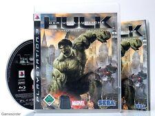 DER UNGLAUBLICHE HULK - DAS OFFIZIELLE VIDEOSPIEL  dt. V. ~Playstation 3 Spiel~