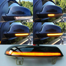 Turn Signal Mirror Lights Sequential LED Flash For VW Golf 5 MK5 2003-2008 GTI