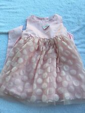 NWT Joe Fresh 18-24 months girls dress pink spring holiday church Easter dressy