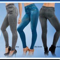 NEW Genie slim jeggings size medium (uk14-18) jeggings ladies girls