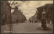 More details for ross & cromarty - cromarty. high street - c1920 vintage printed postcard