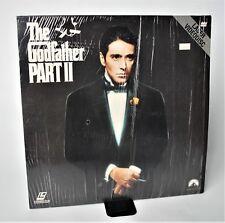 The Godfather Part Ii 2 Laserdisc Al Pacino Robert De Niro 1974.