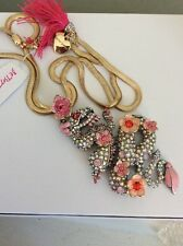 """Betsey"""" Pave Dragon Bjl-3A $125 Betsey Johnson Jewelry""""Memoirs of"""