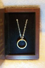 The Lord Of The Rings-The One Ring-Sterling Silver Ed.-The Noble Collection/Coa