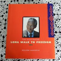 Nelson Mandela SIGNED Long Walk to Freedom South Africa Illustrated Edition HB