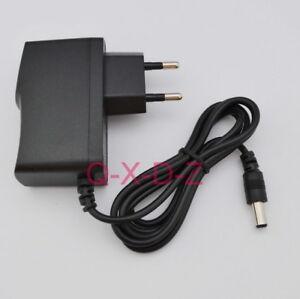 EU Power Supply 9V 1A 2A 3A 200mA 300mA 400mA 500mA 600mA - 800mA 5.5mm x 2.1mm