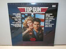 SOUNDTRACK TOP GUN (CBS 70296) LP VINYL 1980s