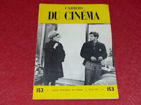 [REVUE LES CAHIERS DU CINEMA] N° 153 # MARS 1964 J. LOSEY &c... EO 1rst Print.
