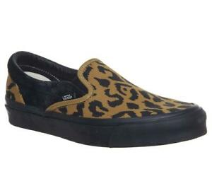 Mens Vans Og Classic Slip On Lx Leopard UK 11