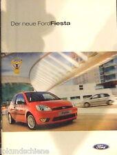 Ford  Der neue Fiesta 10/2002   Prospekt  #073