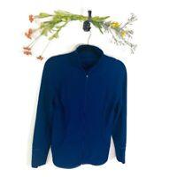 Lululemon Athletica Full Zip Jacket Blue Women's Size 4 Activewear Atheltic EUC